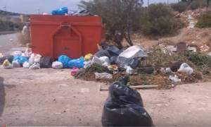 Απίστευτο: Στήθηκε αυθαίρετη χωματερή στο Λαύριο (vid)