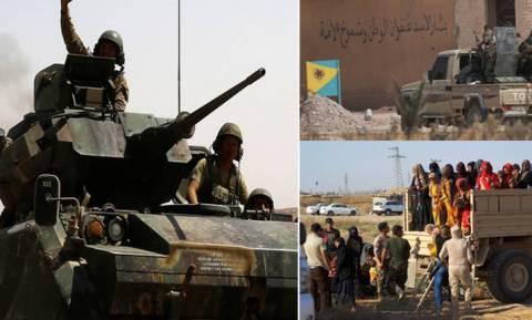 Επικίνδυνη κλιμάκωση στη Συρία: Τούρκοι εναντίον Κούρδων και στη μέση οι Αμερικανοί