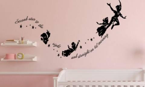 Ιδέες για παιδικό δωμάτιο Peter Pan