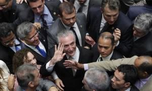 Βραζιλία: Ο Μισέλ Τέμερ νέος Πρόεδρος στη χώρα μετά την καθαίρεση της Ντίλμα Ρουσέφ (Vid)