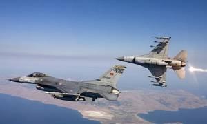 Για πρώτη φορά μετά τις 14 Ιουλίου ζεύγος τουρκικών αεροσκαφών εμφανίστηκε στο FIR Αθηνών