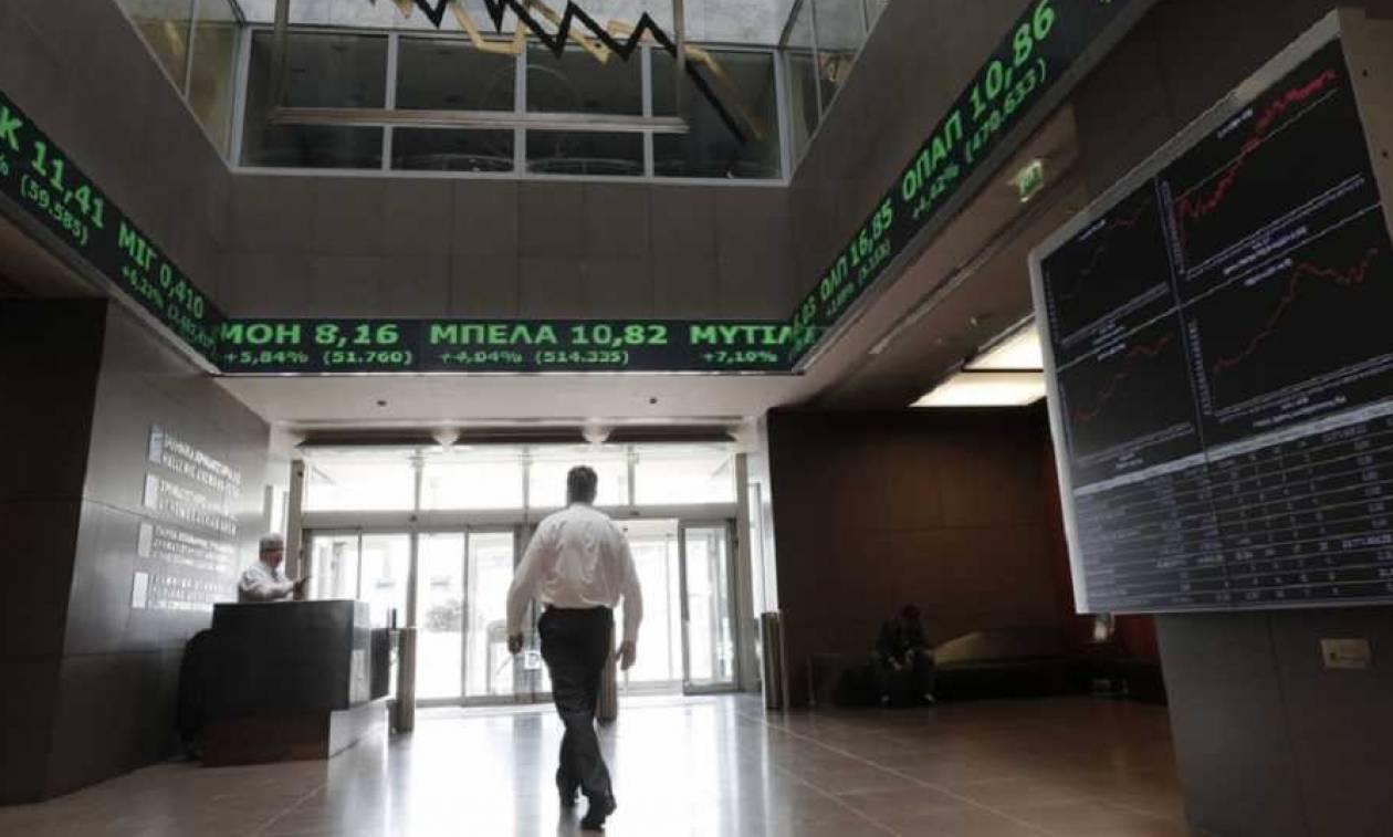 Η κίνηση στο Χρηματιστήριο Αθηνών