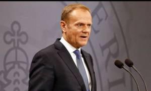 Τουσκ: Θα ήταν μοιραίο λάθος να αγνοήσουμε το μήνυμα του Brexit