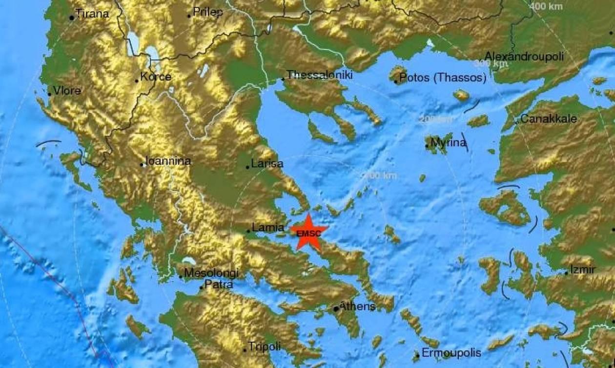 Σεισμός 4,3 Ρίχτερ στην Εύβοια - Αισθητός και στην Αθήνα