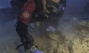 Νέα συγκλονιστική ανακάλυψη στο ναυάγιο των Αντικυθήρων: Βρέθηκαν ανθρώπινο κρανίο και οστά