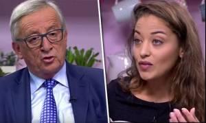 Γαλλίδα μπλόγκερ καταγγέλλει: Το Youtube με απείλησε για να μην «στριμώξω» τον Γιούνκερ (vid)