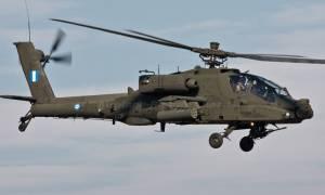 Έπεσε ελικόπτερο Απάτσι της Αεροπορίας Στρατού