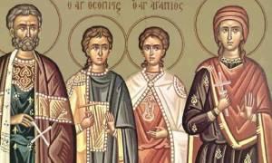 Άγιος Ευστάθιος και η συνοδεία του, εορτάζουν σήμερα 20 Σεπτεμβρίου