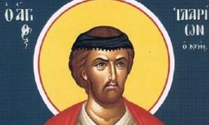 Άγιος Ιλαρίων ο νέος οσιομάρτυρας, εορτάζει στις 20 Σεπτεμβρίου