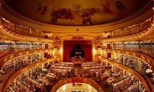 Αυτό το 100 ετών θέατρο μετατράπηκε στο εντυπωσιακότερο βιβλιοπωλείο στον κόσμο (Pics)