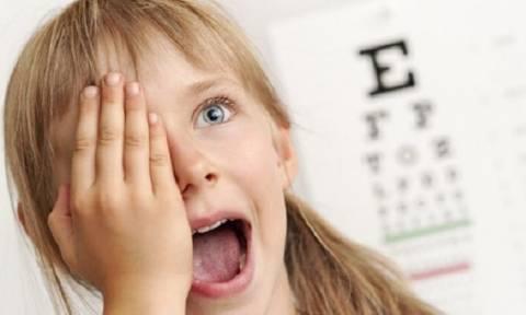 Τι πρέπει να περιλαμβάνει το τσεκάπ των ματιών στα παιδιά - Κάθε πότε πρέπει να γίνεται