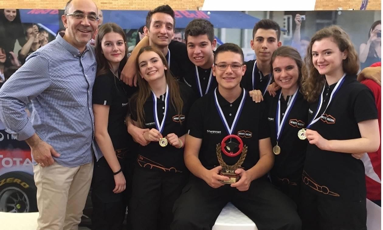 Formula 1: Το μοντέλο που κατασκεύασαν μαθητές της Θεσσαλονίκης «πετάει» για Τέξας