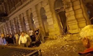 Συναγερμός στην Ουγγαρία: Ισχυρή έκρηξη στο κέντρο της Βουδαπέστης (Pics+Vids)