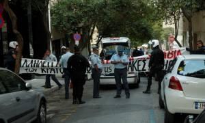 Κατάληψη αντιεξουσιαστών στην Ελληνοαμερικανική Ένωση