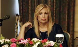 Τηλεοπτικές άδειες - Γεννηματά: Ήρθε η ώρα του εισαγγελέα