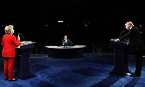 In first face-off with Clinton, Trump struggles to be 'change' candidate