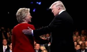 ΗΠΑ: Ικανοποιήση Χίλαρι για το ντιμπέιτ που έσπασε τα κοντέρ - Θα επιστρέψει «πιο σκληρός» ο Τραμπ
