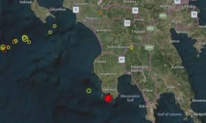 Ισχυρός σεισμός στην Καλαμάτα
