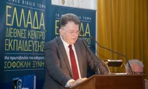 Σοφοκλής Ξυνής: Με όραμα για την Ελλάδα και την εξωστρέφεια στην εκπαίδευση