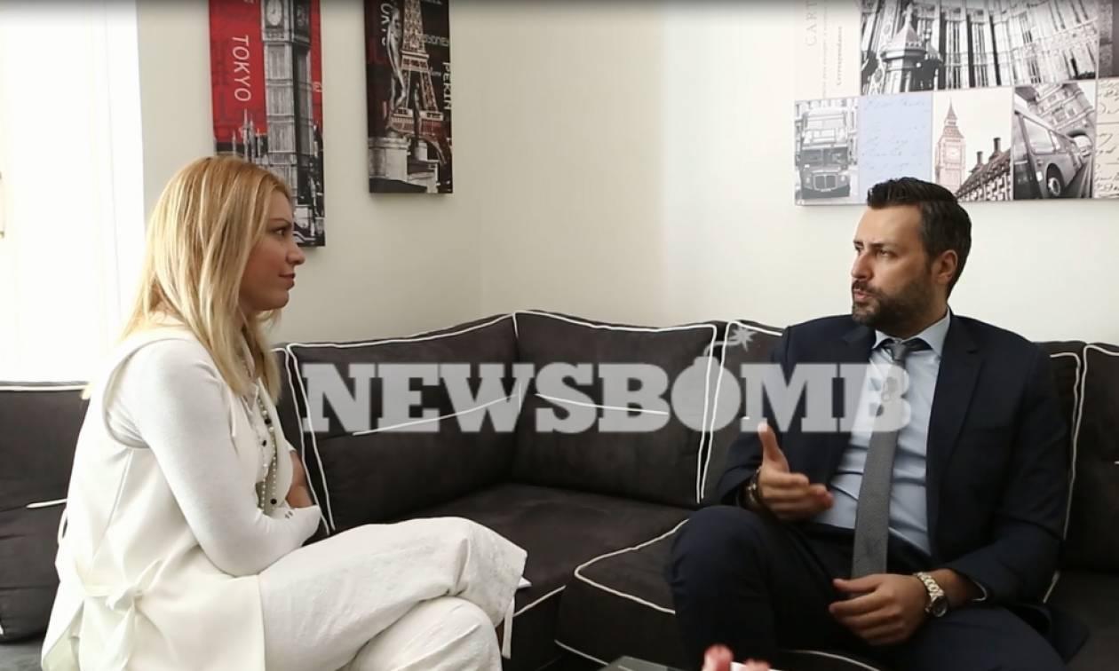 «Βόμβα» Καλλιάνου για Λεβέντη: «Έκανε κοινές διακοπές με Τσίπρα»
