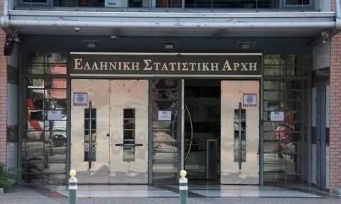 ΕΛΣΤΑΤ: Απασχόληση, ώρες εργασίας και αμοιβές στους βασικούς τομείς της οικονομίας
