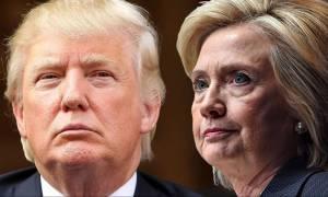 Πανικός στο επιτελείο της Κλίντον – Με τέσσερις μονάδες προηγείται ο Τραμπ μετά το debate