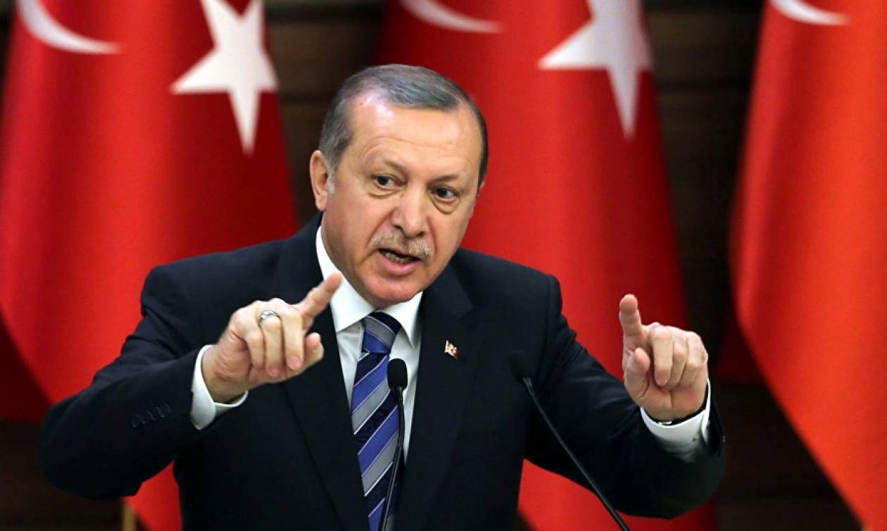 Αδιανόητη πρόκληση Ερντογάν - Αμφισβητεί τα σύνορα με την Ελλάδα