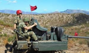 Στρατός Ξηράς: Εκπαιδευτικές βολές της Σχολής Πυροβολικού (pics)