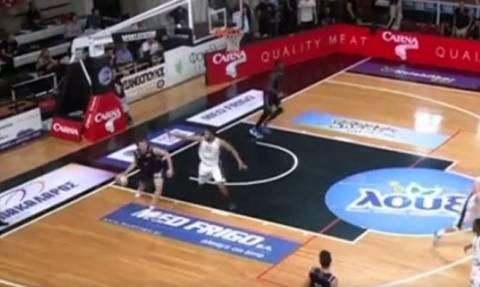 Το απίστευτο τρίποντο του Μιλουτίνοβιτς! (video)