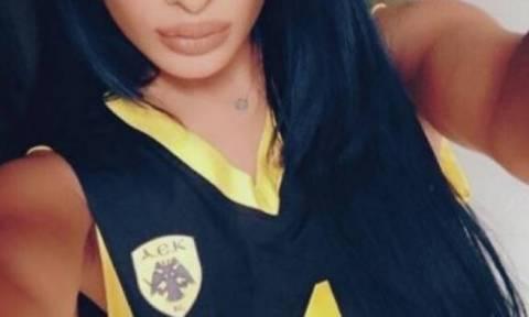Η σέξι φίλαθλος του Ολυμπιακού που φοράει… «κιτρινόμαυρα»! (photos)