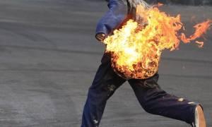 Τον είχε «κάψει» ο έρωτας κάηκε και από βενζίνη