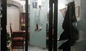 Τρίπολη: Άγνωστοι βανδάλισαν τα γραφεία του Μητροπολιτικού Ναού (photos)