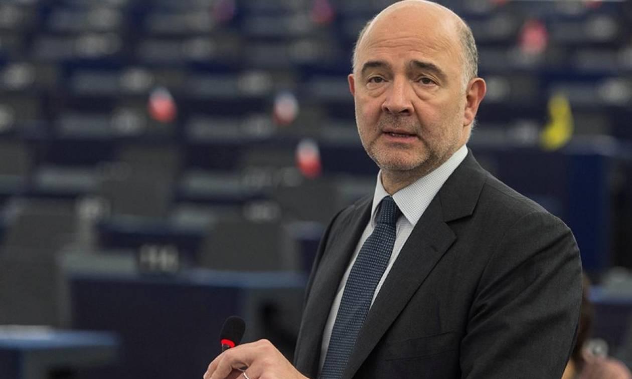 Συζήτηση στο ΕΚ υπό τον Μοσκοβισί για το ελληνικό πρόγραμμα