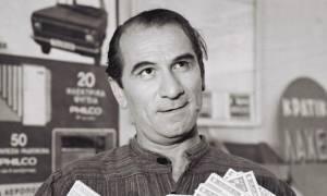 Σαν σήμερα το 2001 πέθανε ο Κώστας Χατζηχρήστος