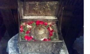 Η τιμία κάρα του Αγίου Στυλιανού μέχρι 9/10 στην Αθήνα