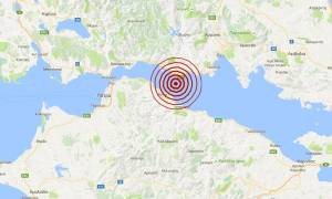 Σεισμός 3,6 Ρίχτερ βόρεια του Αιγίου (pic)