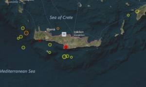 Σεισμός ξύπνησε τους κατοίκους της Κρήτης