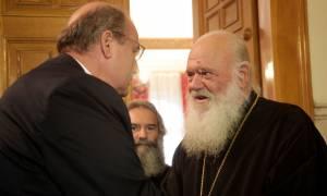 Ιερώνυμος σε Φίλη: Δεν συζητώ μαζί σου για το μάθημα των Θρησκευτικών! (vid)