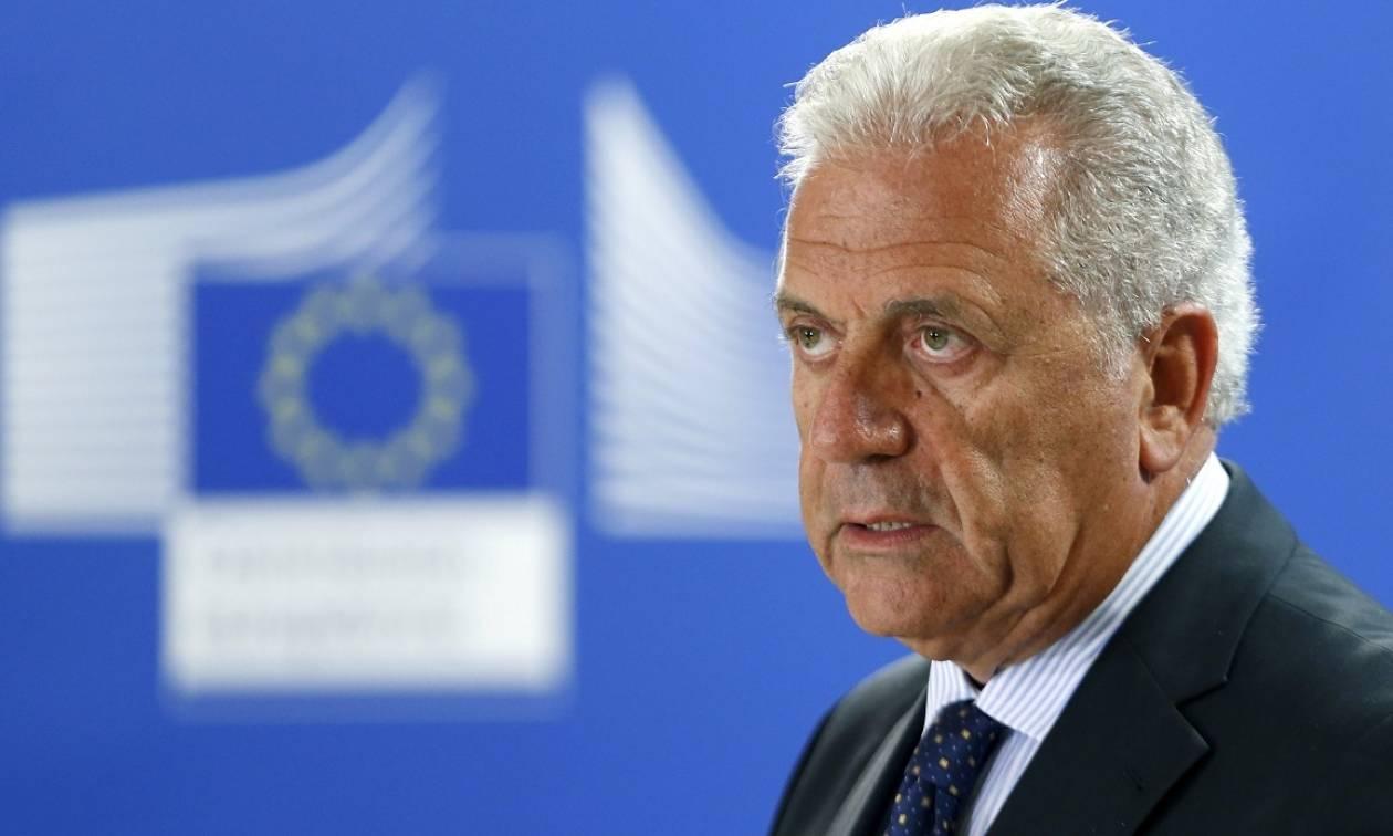 Αβραμόπουλος: Αύριο τα εγκαίνια της Ευρωπαϊκής Συνοριοφυλακής και Ακτοφυλακής