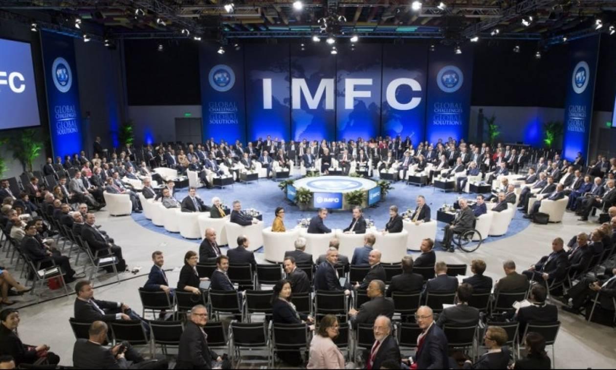 Τσακαλώτος - Χουλιαράκης στην ετήσια Σύνοδο ΔΝΤ- Παγκόσμιας Τράπεζας