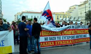Θρασύτατος ο Κατρούγκαλος - Ειρωνεύτηκε τους εργαζόμενους που συνάντησε (vid)