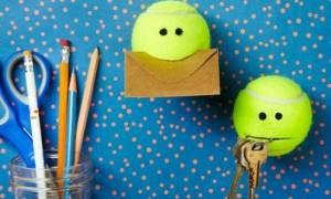 Πώς μπορείτε να αξιοποιήσετε ένα απλό μπαλάκι του τένις