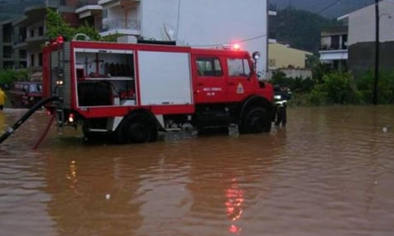 «Βούλιαξε» η Κέρκυρα -Πλημμύρισαν δεκάδες σπίτια