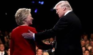 Reuters: Με πέντε μονάδες μπροστά η Χίλαρι έναντι του Τραμπ - Νέο ντιμπέιτ την Κυριακή (9/10)