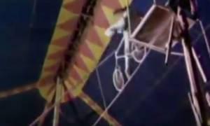 Βίντεο σοκ: Κόβει την ανάσα η πτώση ακροβάτη στο κενό!