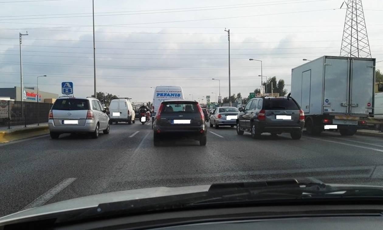 ΤΩΡΑ: Μποτιλιάρισμα στους δρόμους της Αθήνας