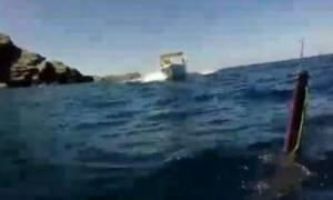Σοκαριστικό video: Παραλίγο τραγωδία στην Κρήτη!