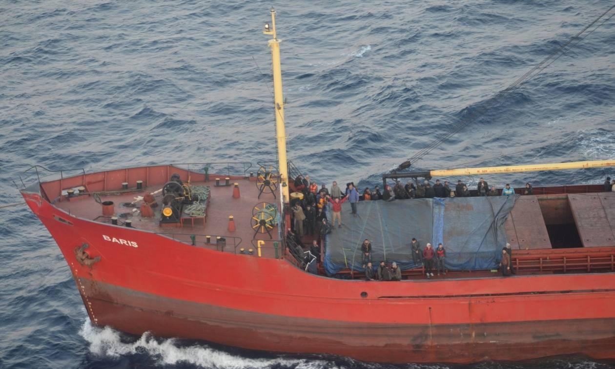 Ποινή κάθειρξης 595 χρόνων για τους πέντε που κατηγορούνται για την υπόθεση του πλοίου Baris