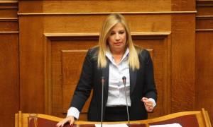 Βουλή – Γεννηματά σε Τσίπρα: Φαλίρισε το παραεμπόριο της ελπίδας και κάνετε λαθρεμπόριο ηθικής(vid)