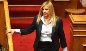 Γεννηματά: Είμαι σοκαρισμένη από την χθεσινή συζήτηση στη Βουλή